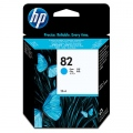 Консуматив HP 82 69-ml Cyan Ink Cartridge  SN: C4911A