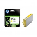 Консуматив HP 920XL Yellow Officejet Ink Cartridge  SN: CD974AE