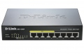 Комутатор D-Link 8-port 10/100/1000 Desktop Switch w/ 4 PoE Ports  SN: DGS-1008P