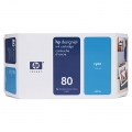 Консуматив HP 80 350-ml Cyan Ink Cartridge  SN: C4846A