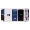 Консуматив HP 80 350-ml Black Ink Cartridge  SN: C4871A