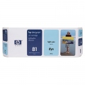 Консуматив HP 81 680-ml Light Cyan Dye Ink Cartridge  SN: C4934A