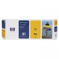 Консуматив HP 81 680-ml Yellow Dye Ink Cartridge  SN: C4933A
