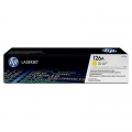 Консуматив HP 126A Yellow LaserJet Toner Cartridge  SN: CE312A