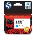 Консуматив HP 655 Cyan Ink Cartridge  SN: CZ110AE
