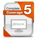 Допълнителна гаранция Sony BRAVIA BCC-Y5-04, 5 years complete coverege warranty incl. mishap  SN: BCC-Y5-04
