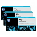 Консуматив HP 771C 3-pack 775-ml Light Cyan Designjet Ink Cartridges  SN: B6Y36A