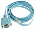 Кабел Cisco Console Cable 6ft with RJ45 and DB9F  SN: CAB-CONSOLE-RJ45=