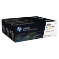 Консуматив HP 305A CYM Tri-Pack Laserjet Toner Cartridge  SN: CF370AM
