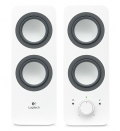 Тонколони Logitech 2.0 Speakers Z200 - Snow white  SN: 980-000811