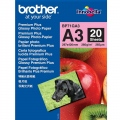 Хартия Brother BP-71GA3 Innobella Premium Glossy Photo Paper (A3/20 sheets)  SN: BP71GA3