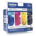 Консуматив Brother LC-1100BK/C/M/Y VALUE BP Ink Cartridge Standard Set   SN: LC1100VALBP