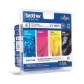 Консуматив Brother LC-1100HY BK/C/M/Y VALUE BP Ink Cartridge High Yield Set  SN: LC1100HYVALBP