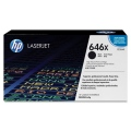 Консуматив HP 646X Black LaserJet Toner Cartridge  SN: CE264X