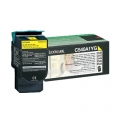 Консуматив Lexmark C54x, X54x Yellow Return Programme Toner Cartridge (1K)  SN: C540A1YG