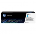 Консуматив HP 201X High Capacity Cyan Original LaserJet Toner Cartridge (CF401X)  SN: CF401X