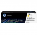 Консуматив HP 201X High Capacity Yellow Original LaserJet Toner Cartridge (CF402X)  SN: CF402X