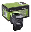 Консуматив Lexmark 702HK Black High Yield Return Program Toner Cartridge  SN: 70C2HK0