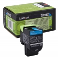 Консуматив Lexmark 702HC Cyan High Yield Return Program Toner Cartridge  SN: 70C2HC0