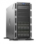 Сървър Dell PowerEdge T430, Intel Xeon E5-2620v4 (2.1GHz, 20M), 16GB 2400 RDIMM, 120GB SSD, PERC H730 1GB NV, DVD+/-RW, iDRAC8 Basic, Quad Port 1GBE, Single Hot-plug Power Supply 750W, 3Y NBD  SN: PET430C1