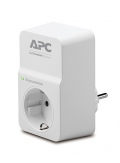 Филтър APC Essential SurgeArrest 1 outlet 230V Germany  SN: PM1W-GR