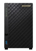 "Мрежов сторидж Asustor AS3102T, 2-bay NAS, Intel Celeron Dual-Core N3050 ( up to 2.1GHz, 2MB), 2GB DDR3L(non-upgradeable), 2 x 3.5"" SATAII / SATAIII, GbE x 1, USB 3.0 - 1*Front/2*Rear, HDMI 1.4b, 16 Channel IP Cam(4 license included) WoL, System Sleep Mode, Tower  SN: AS3102T"