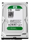 Твърд диск Western Digital Green 2TB Desktop 3.5-inch, SATA-III IntelliPower, 64MB Cache  SN: WD20EZRX
