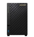 "Мрежов сторидж Asustor AS3202T, 2-bay NAS, Intel  Celeron Quad-Core J3160 ( up to 2.24GHz, 2MB), 2GB DDR3L (non-upgradeable), 2 x 3.5"" SATAII / SATAIII, GbE x 1, USB 3.0 - 1*Front/2*Rear, HDMI 1.4b, 16 Ch IP Cam(4 license incl.) WoL, System Sleep Mode, AES-NI hardware   SN: AS3202T"