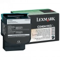 Консуматив Lexmark C54x, X54x Black Return Programme Toner Cartridge (1K)  SN: C540A1KG