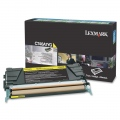 Консуматив Lexmark C746, C748 Yellow Return Program Toner Cartridge  SN: C746A1YG