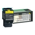 Консуматив Lexmark C54x, X54x Yellow High Yield Return Programme Toner Cartridge (2K)  SN: C540H1YG