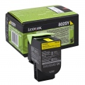 Консуматив Lexmark 802SY Yellow Standard Yield Return Program Toner Cartridge  SN: 80C2SY0
