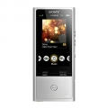 Mp3 плейър Sony NW-ZX100HN Silver, 128GB, High-Res walkman with Noise cancelling headphones  SN: NWZX100HNS.CEW