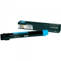 Консуматив Lexmark X950, X952, X954 Cyan Extra High Yield Toner Cartridge  SN: X950X2CG