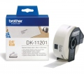 Консуматив Brother DK-11201 Roll Standard Address Labels, 29mmx90mm, 400 labels per roll, Black on White  SN: DK11201