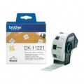 Консуматив Brother DK-11221 Square Paper Labels, 23mmx23mm, 1000 labels per roll (Black on White)  SN: DK11221