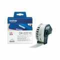 Консуматив Brother DK-22210 Roll White Continuous Length Paper Tape 29mmx30.48M (Black on White)  SN: DK22210