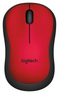 Мишка Logitech Wireless Mouse M220 Silent, red  SN: 910-004880