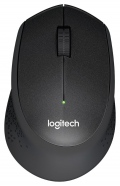 Мишка Logitech Wireless Mouse M330 Silent Plus, black  SN: 910-004909