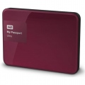 "Твърд диск Western Digital My Passport Ultra 2,5"" 2TB USB 3.0, Berry  SN: WDBBKD0020BBY"