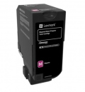 Консуматив Lexmark Magenta Return Programme Toner Cartridge  SN: 74C20M0