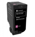 Консуматив Lexmark Magenta High Yield Return Programme Toner Cartridge  SN: 74C2HM0