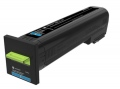 Консуматив Lexmark Cyan Extra High Yield Return Program Toner Cartridge  SN: 72K2XC0