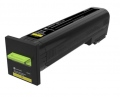 Консуматив Lexmark Yellow Extra High Yield Return Program Toner Cartridge  SN: 72K2XY0