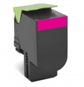 Консуматив Lexmark 802XM Magenta Extra High Yield Return Program Toner Cartridge  SN: 80C2XM0