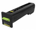 Консуматив Lexmark Yellow Extra High Yield Return Program Toner Cartridge  SN: 82K2XY0