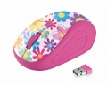 Мишка TRUST Primo Wireless Mouse - pink flowers  SN: 21481