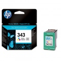 Консуматив HP 343 Tri-color Inkjet Print Cartridge  SN: C8766EE