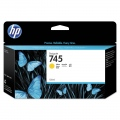 Консуматив HP 745 130-ml Yellow Ink Cartridge  SN: F9J96A