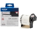 Консуматив Brother DK-22251 Roll, Black and Red on White Continuous Length Paper Tape, 62mm x 15.24m  SN: DK22251